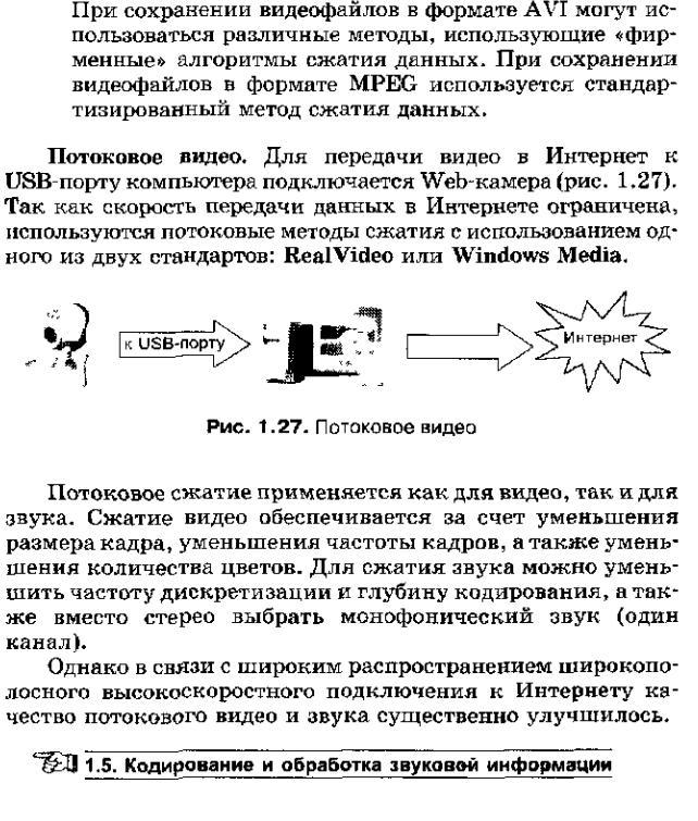 информационный объем изображения: